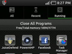 Glass Metal Theme Go Launcher 1.0 Screenshot