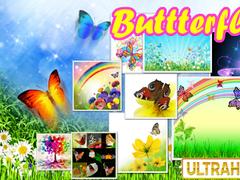 Glitter Butterflies HD PRO LWP 1.0.0C Screenshot