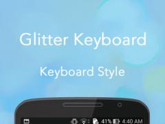 Glitter Keyboard 4.0 Screenshot