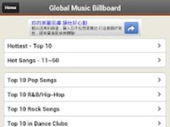 Global Music Billboard -MV&MP3 1.0.2 Screenshot