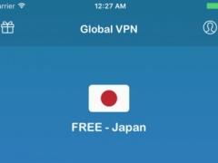 Global VPN - Unlimited Anonymous Secure VPN Proxy 1.6 Screenshot