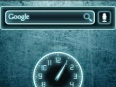 Glow Legacy Clock Widget 1.3 Screenshot