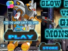 Glow Robot vs Scary Glow Monsters FREE - A Crazy Survival Adventure Game 1.0 Screenshot