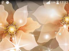 Glowing Butterflies Wallpaper 2.1 Screenshot