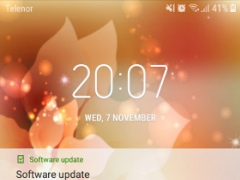 Review Screenshot - Enjoy Glittery and Sparkling Live Wallpapers