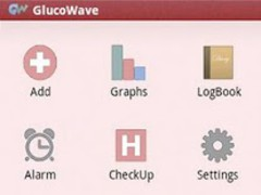Glucowave Diabetes  Screenshot