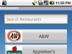 Gluten Free Restaurant Items 1.1 Screenshot