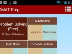 GMAT Prep Course 1.0 Screenshot