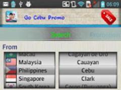 Go Cebu Promo (Cebu Pacific) 1.02 Screenshot