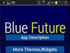 GO Keyboard Future Novelty 1.0 Screenshot