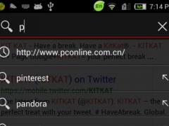 GO Keyboard Gray Theme 2.0 Screenshot