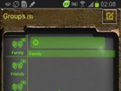 Go Keyboard Nuclear Fallout 2k 1.3 Screenshot
