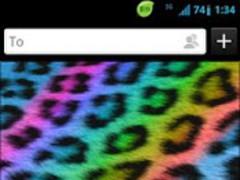 GO Keyboard Rainbow Cheetah 1.1 Screenshot
