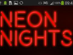GO Keyboard Red Neon Theme 1.1.2 Screenshot
