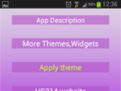 GO Keyboard Simply Purple 1.0.8 Screenshot