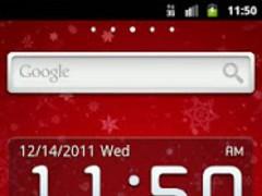 GO Launcher EX Theme Christmas 1.1 Screenshot