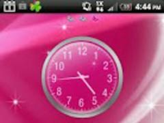 GO Launcher Glitter Pink Theme 1.0 Screenshot