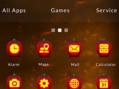 GO Launcher Pumpkin Theme 1.0 Screenshot