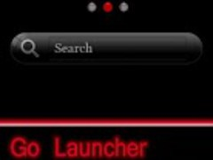 GO Launcher Red Theme Galaxy 3 1.0 Screenshot