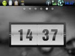 GO Launcher Theme Black Water 1.0 Screenshot