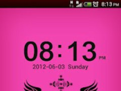 GO Locker Black-Pink Theme 1.0 Screenshot