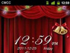 GO Locker Christmas Eve Theme 1.10 Screenshot