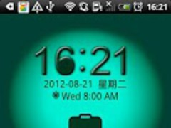 Go Locker Green Lantern Theme 1.0 Screenshot
