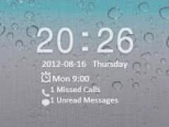 GO Locker iPhone 4S Theme 2.1 Screenshot