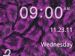 GO Locker- Pink Fur Theme 1.3 Screenshot