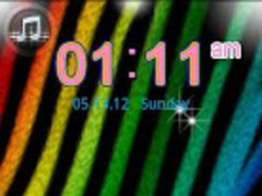 GO LOCKER Rainbow Zebra Theme 1 Screenshot