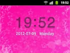 GO Locker Theme Pink Cute Star 11.2 Screenshot