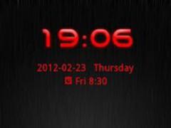 Go Locker Theme Red Tech 1.0 Screenshot