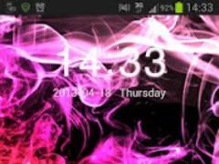 GO Locker Theme Smoke Color 11.2 Screenshot