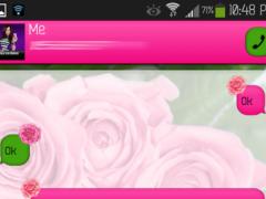 GO SMS - Flower Beauty 3 1.1 Screenshot