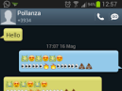 GO SMS Galaxy S3 Theme 1.4 Screenshot