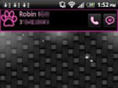 Pink Neon Theme for GO SMS Pro 1.0 Screenshot