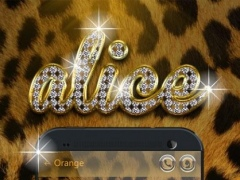 GO SMS PRO ALICE THEME 1.0 Screenshot