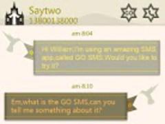 GO SMS Pro Baptism Theme 1.1 Screenshot