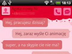 GO SMS Pro Crazy Cherry Theme 1.0.18 Screenshot
