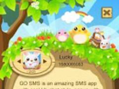 GO SMS Pro Cute Easter Pop thx 1.4 Screenshot