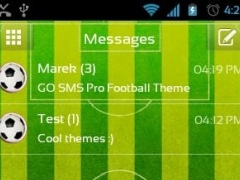 Football Theme for GO SMS Pro 3.0 Screenshot