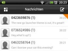 GO SMS Pro HTC Theme 1.1 Screenshot