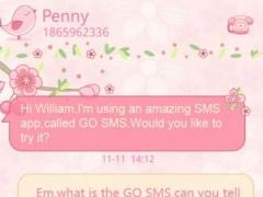 go sms pro love petal theme ex 1 0 free download