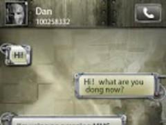 GO SMS Pro Machine Theme 1.1 Screenshot
