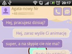 GO SMS Pro Sweet Hearts Theme 1.0.21 Screenshot