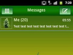 GO SMS PRO Theme Ganja Theme 3.4 Screenshot