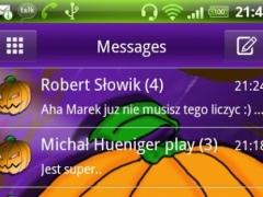 Theme Halloween for GO SMS Pro 3.0 Screenshot