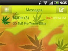 Theme Rasta for GO SMS Pro 3.0 Screenshot