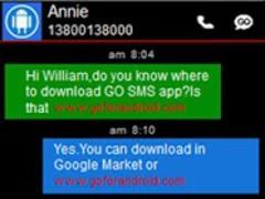 GO SMS Pro Windows Metro Theme 1.0 Screenshot