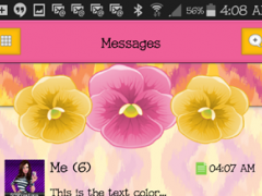 GO SMS THEME - SCS444 1.1 Screenshot